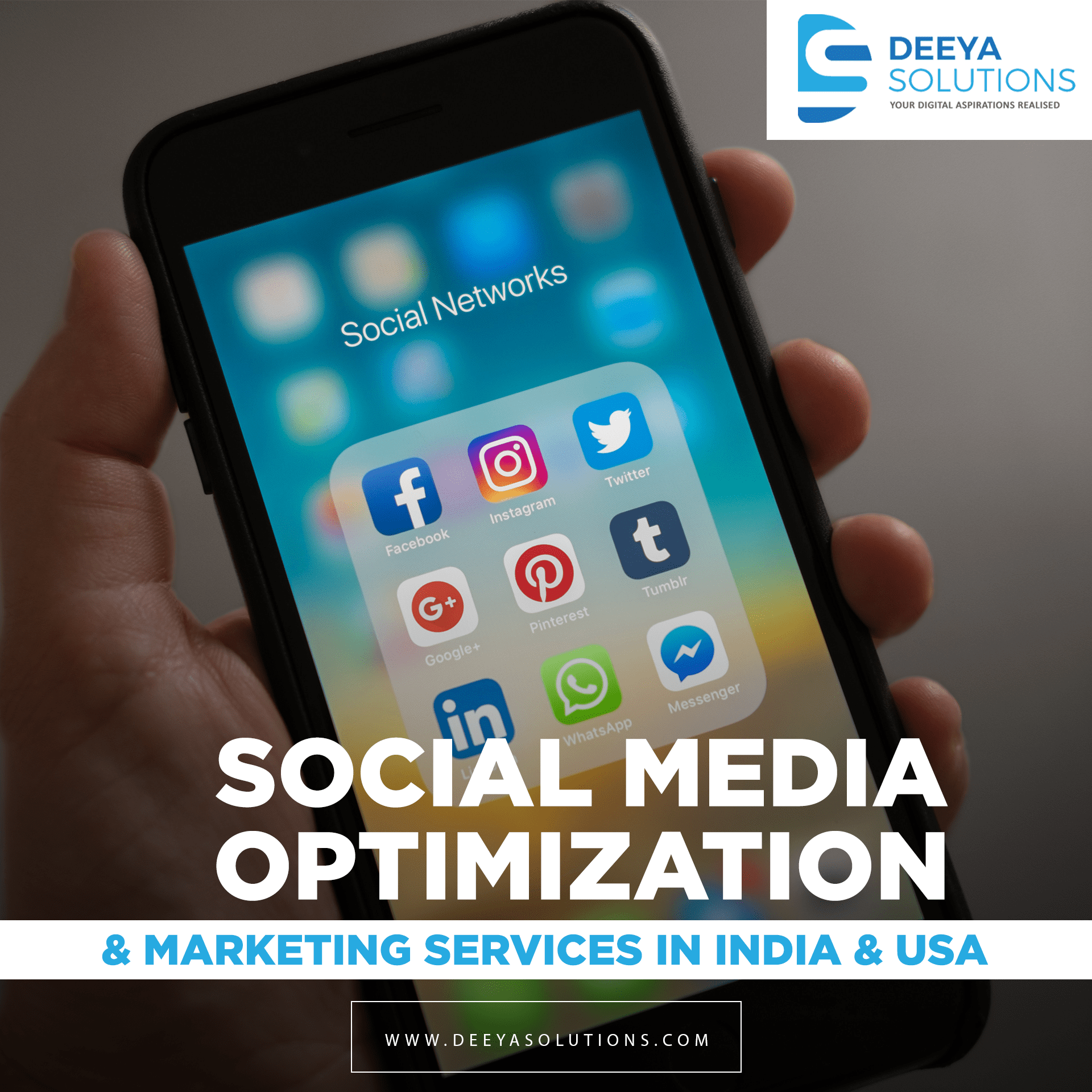 Social Media Marketing Services in India & USA
