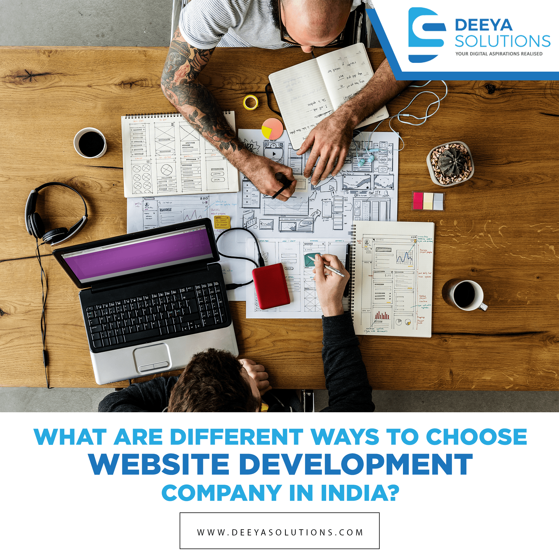 What are Different Ways to Choose Website Development Company In India?